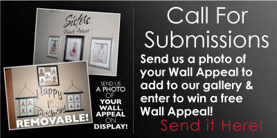 Submit your photo of your Wall Appeal Removable Vinyl Decal