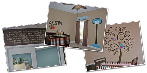 Removable Wall Decals by Wall Appeals