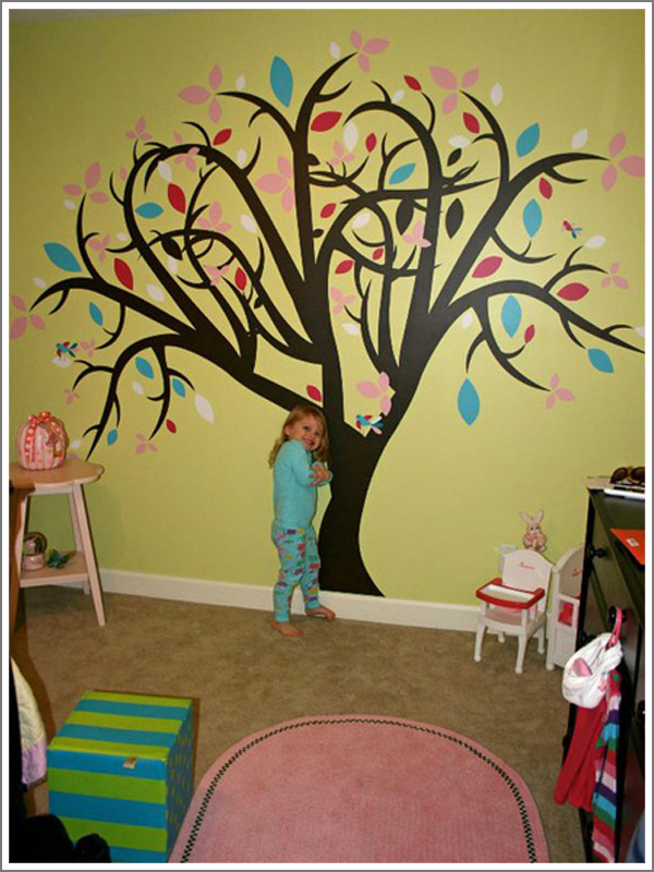 Photo Gallery of various words and graphics of removable vinyl wall ...