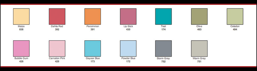 New Removable Wall Art Colors for your temporary decals and wall tattoos.